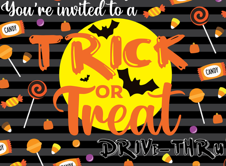 Trick-or-treat Drive-thru Event Planned for Oct. 30
