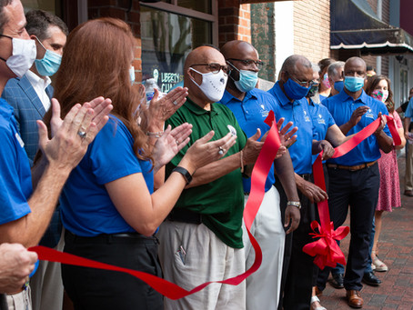 Administrative Offices: Ribbon Cutting & Open House