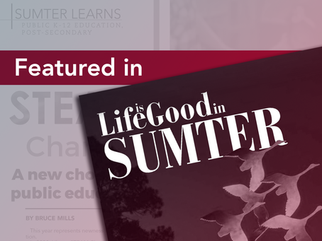 LSC featured in Life is Good in Sumter magazine