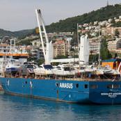 Eemslift Hendricka yacht transport