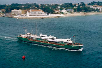 Waddenzee for Zevenster jachttransport in 1998