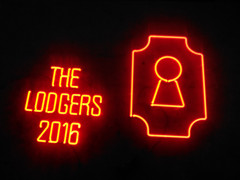 the lodgers neon sign