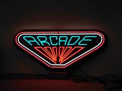 arcade neon sign