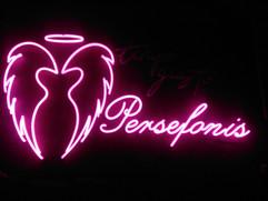 persefonis pink neon sign angel wings
