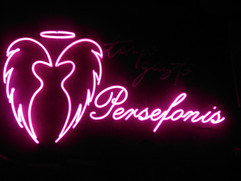 persefonis pink neon sign angel wings