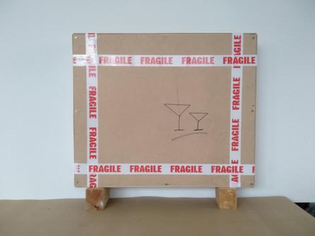 wooden box ready for shipment : fragile
