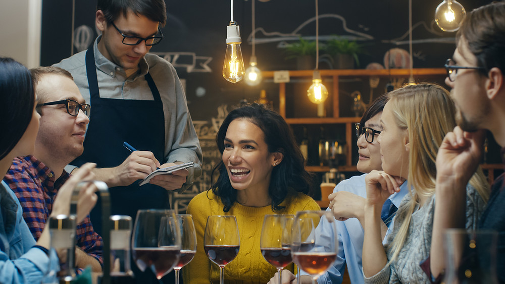 ask your server questions about the menu to keep you safe with food allergies
