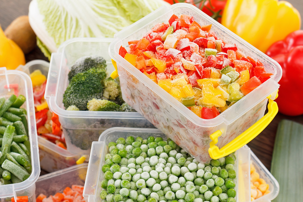 nutritional value of frozen versus fresh vegetables