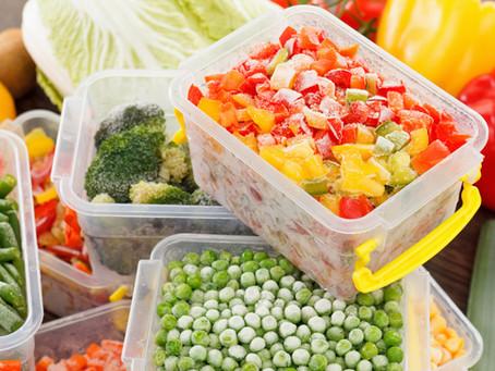 Vegetables: Fresh v. Frozen
