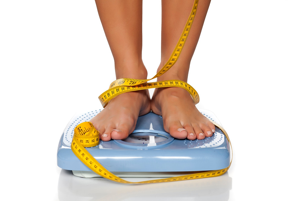 weight loss plateau scale