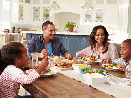 Benefits of Eating at the Dinner Table