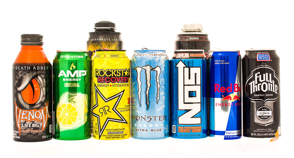 energy drinks versus caffeine in coffee