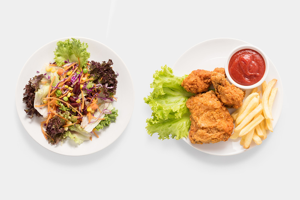 Get more nutrition when eating out