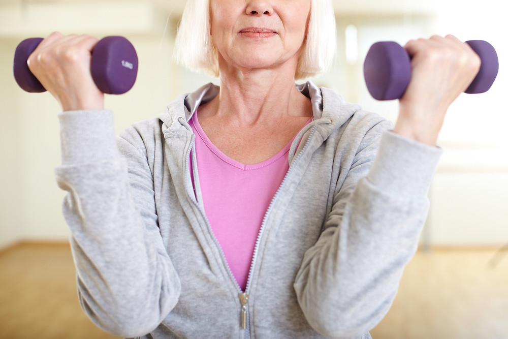 Strength training keeps muscles young