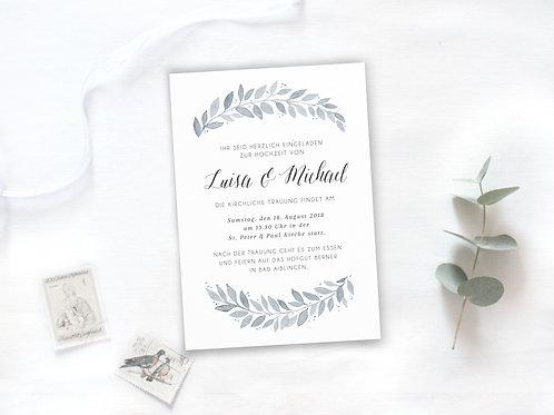 "Einladung ""Louisa"""