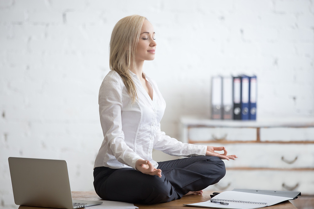 breathing and mindful meditation