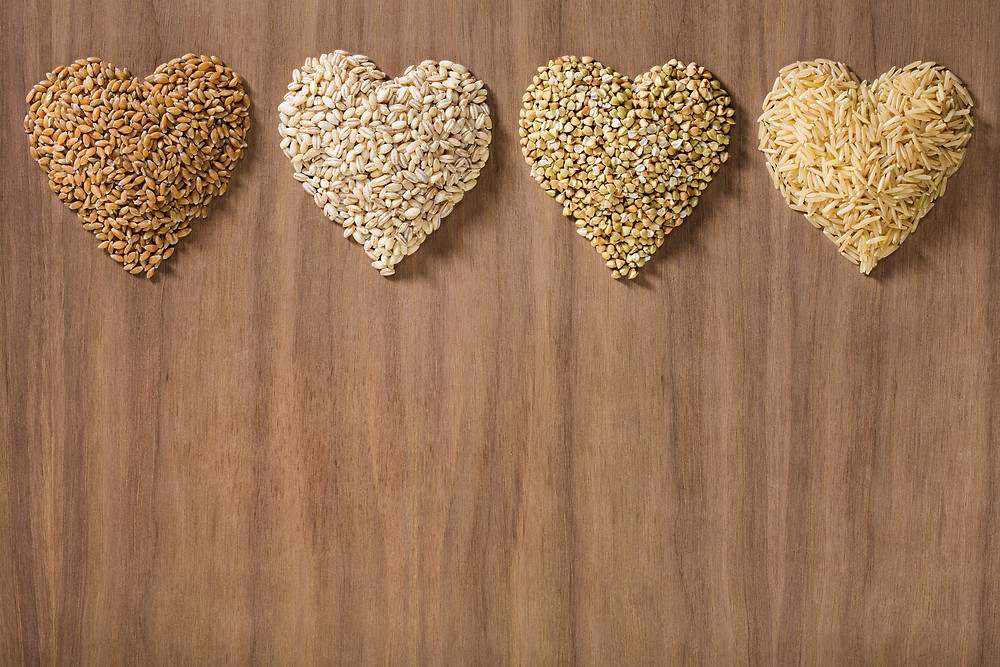 Whole grains are heart healthy