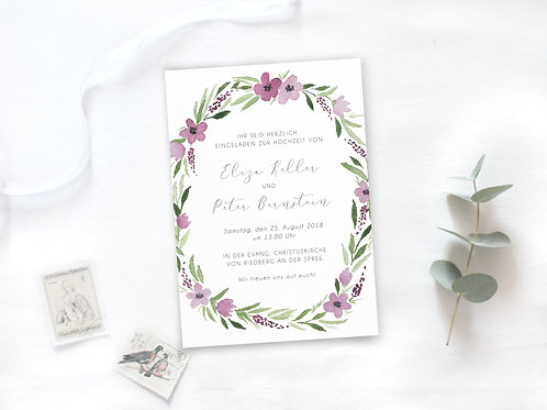 "Einladung ""Lily"""