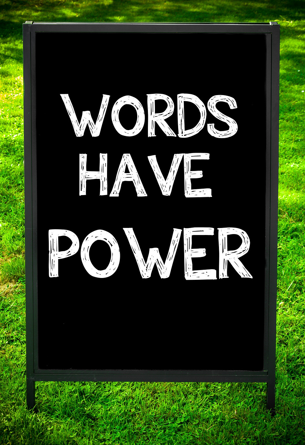 words have power be positive