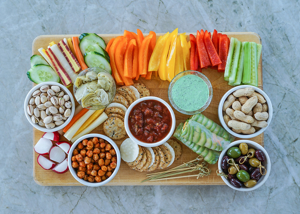 healthy game day food for football season