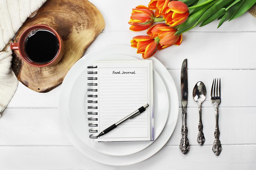 bullet journal for food