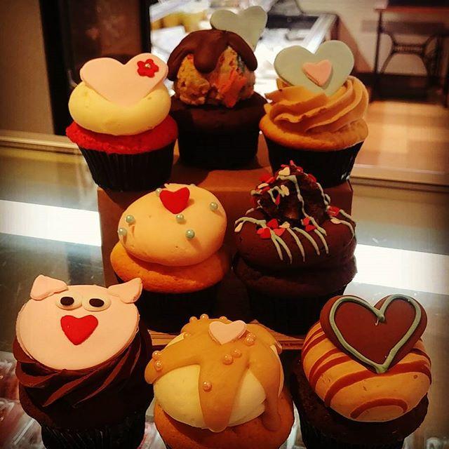 Cupcakes Saint-Valentin 2018