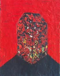 Monolithe rouge
