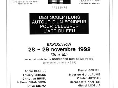 """""""Des Sculpteurs autour d'un fondeur"""" - BONNIERES/SEINE"""