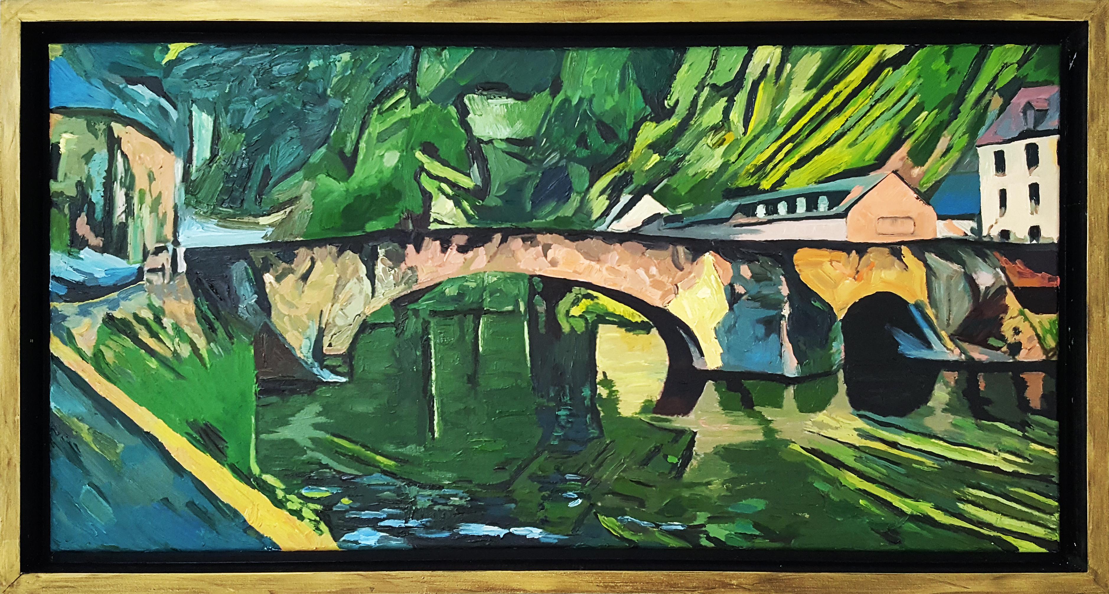 """""""le vieux pont"""" Dinan"""
