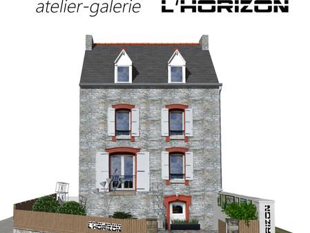 """""""atelier-galerie l'Horizon"""" - St CAST"""