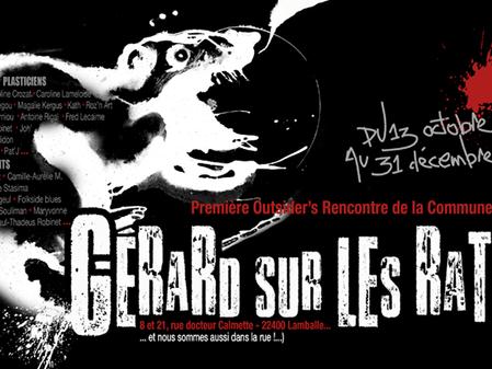 """""""Gérard sur les rats"""" - LAMBALLE"""