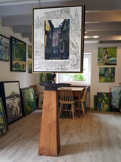 atelier galerie Horizon Saint Cast Le Gu