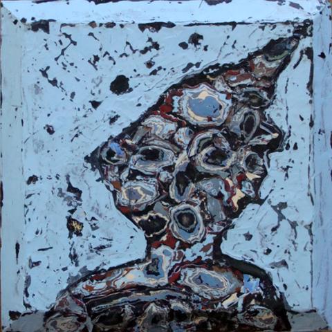 Portrait en croûte