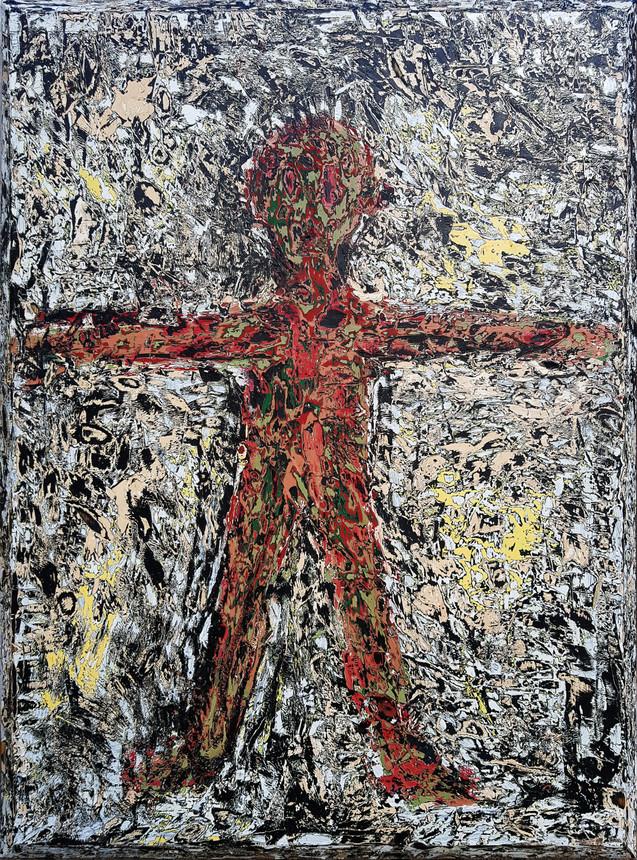 Humain croix