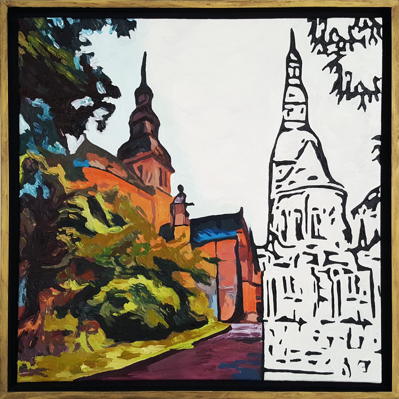 """""""L'église Saint-Sauveur"""" Dinan"""
