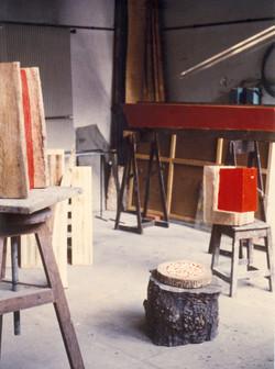 atelier Beaux arts Bourges 1987