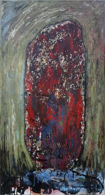 Mégalithe rouge