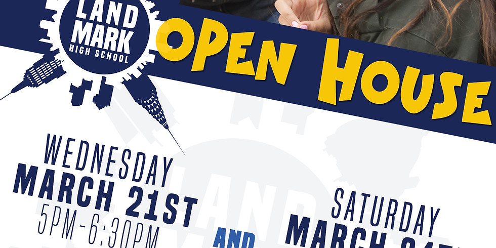 Open House Tour -will be re-scheduled due to storm