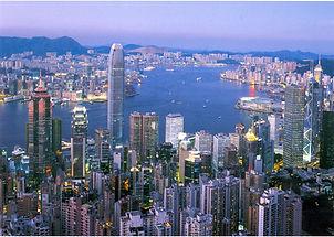 View from Victoria Peak, Hong Kong, China