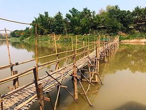 Crossing the Mekong River, Luang Prabang, Laos