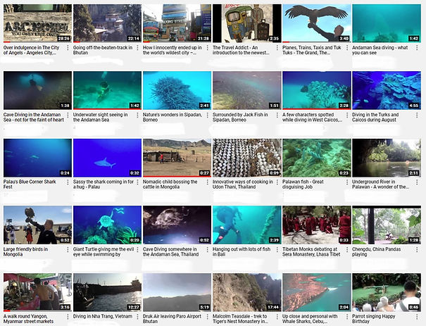 Travel Addict You Tube Videos