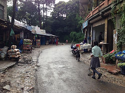 Life in a mountain village, Nagarkot, Nepal