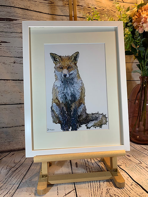 Full Fox Limited Edition Print