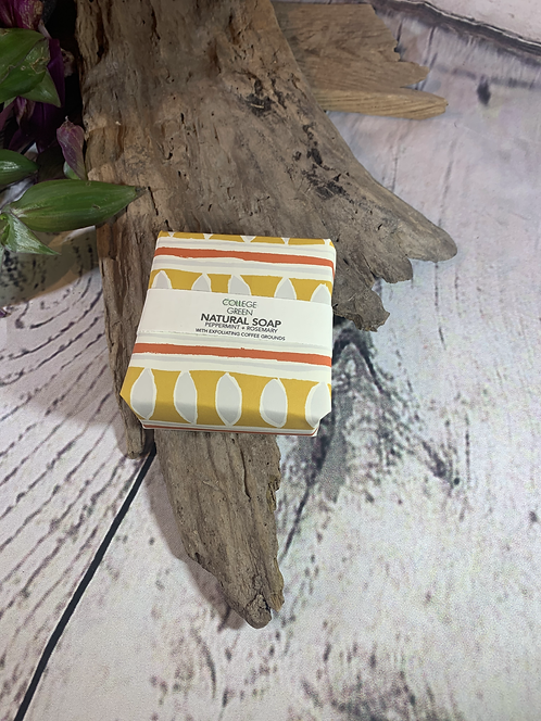 Peppermint & Rosemary Natural Soap