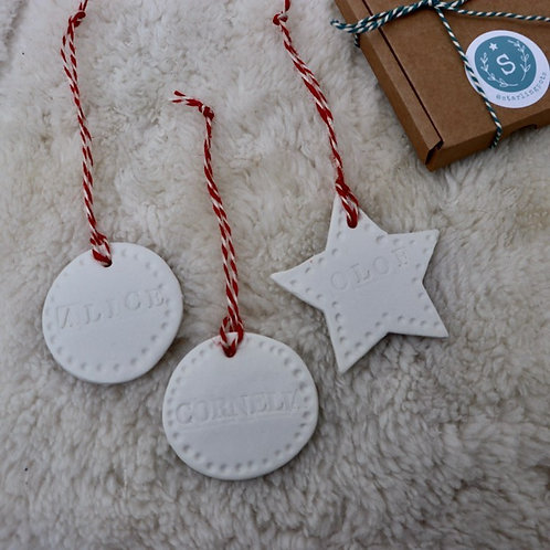 Christmas Tree Decoration Making with Sophie 27th Nov 2pm