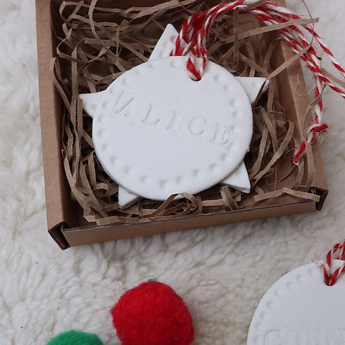 Christmas Tree Decoration Making with Sophie 27th Nov 10:30am