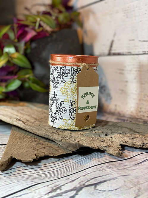 Spruce & Peppermint Candle