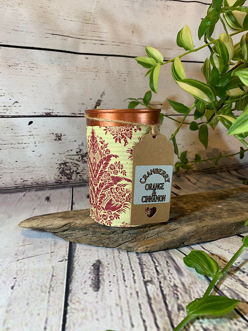 Cranberry, Orange and Cinnamon Candle