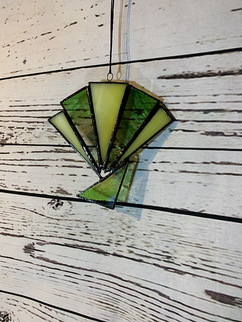 Glass Retro Sun Catcher