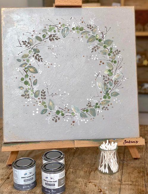 Cotton Bud Canvas Art with Lorna Page 28th Oct